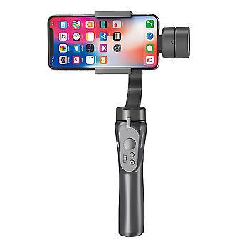 スマートフォンのgoproカメラのためのスマートフォンスタビライザー3軸ブルートゥースハンドヘルドジンバルスタビライザーセルフスティック三脚