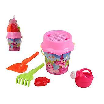 Beach toys set Unicorn (6 pcs)