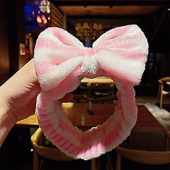 Wash Face Hair Holder Hairbands Coral Fleece Girls Turban Fashion Hair Accessories(55#)