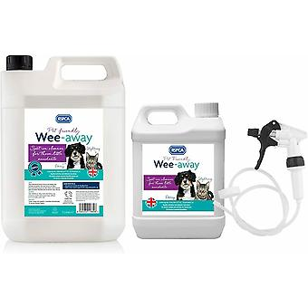 RSPCA Wee Away 2.5L & 5L Pet Friendly Stain & Odour Remover