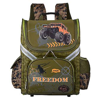 Childrens Army Style School Backpack
