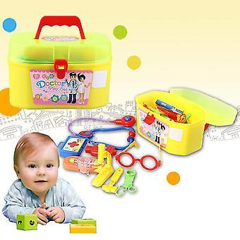 29pcs/set Mini Kid Doctor Krankenschwester medizinische Kunststoff spielen Wissenschaft pädagogisches Spielzeug