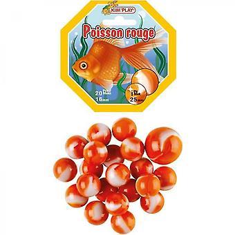 Kimplay 20 + 1 Red Fish Balls
