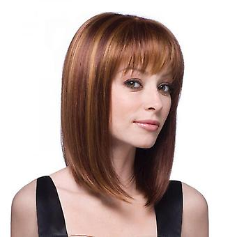 Wig-010a High-temperature Synthetic Fiber Wigs Heat Resistant Long Hairpiece Hair Wig For