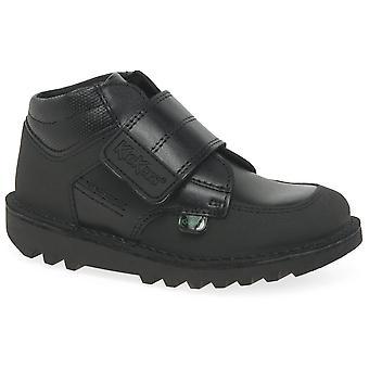 كيكرز مرحبا منتصف Scuff الأولاد أحذية الرضع