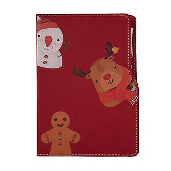 Biggdesign Cheerful Design Notepad Red