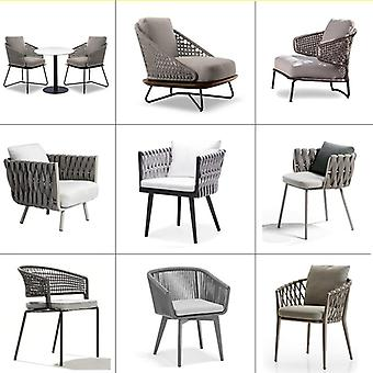 New Design Good Quality Garden Hemp Rope Furniture