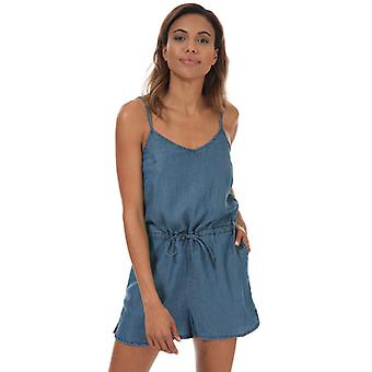 Women's Only Mikka Life Drawstring Playsuit in Blue