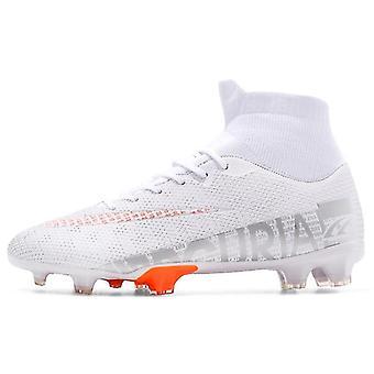 נעלי כדורגל בחוץ מגפי כדורגל גבוה קרסול אימון ספורט נעלי ספורט