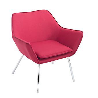 Sessel - Sessel - Modern Red Metal 81 cm x 70 cm x 78 cm