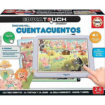 Science exploration sets educa touch junior - learning the alphabet portuguese language storytelling version