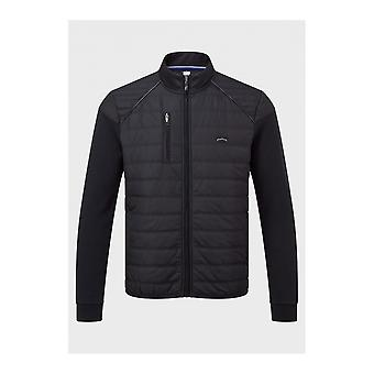 883 Police Raymo Quilted Black Jacket