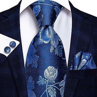 Cravatta italiana hi-tie 100% set cravatta da uomo in seta, 8,5 cm (C-3239)
