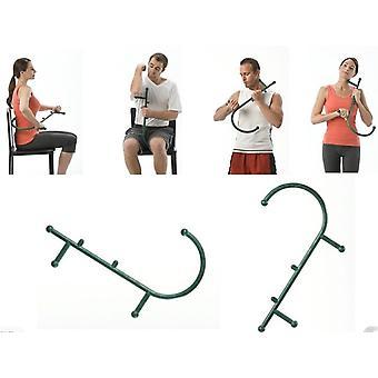 Thera Cane Trigger Point Tool Body Ryggkrok Muskeltryck Självmassage