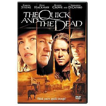 Snabb & döda [DVD] USA import
