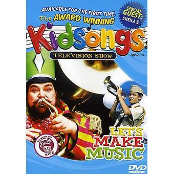Kidsongs - Let's Make Music [DVD] USA import