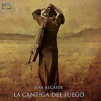 Ana Alcaide - La Cantiga Del Fuego [CD] USA import