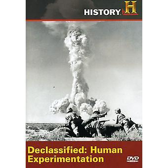 Importação de EUA experimentação humana desclassificados [DVD]