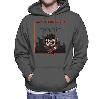Bangkok Rules Snake Plissken Escape From New York LA Men's Hooded Sweatshirt