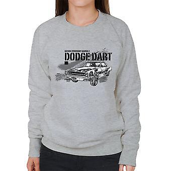 Haynes Owners Workshop Manual Dodge Dart Black Women's Sweatshirt