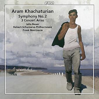 Chatjaturjan / Bauer / Beermann - Khachaturian: Symfoni nr 2 & tre konsert arior [CD] USA import