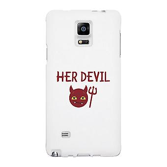 Her Devil-Left White Phone Case