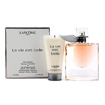 Cadeauset Lancome La Vie Est Belle Eau de toilette 50ml Spray + 50ml bodylotion