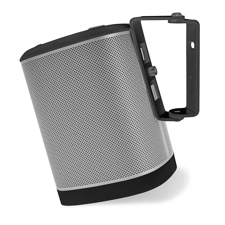 Vebos wall mount Sonos Play 1 black 15 degrees