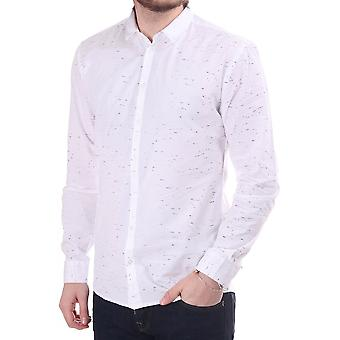 Minimum Feroz Ls Shirt With Flecked Pattern