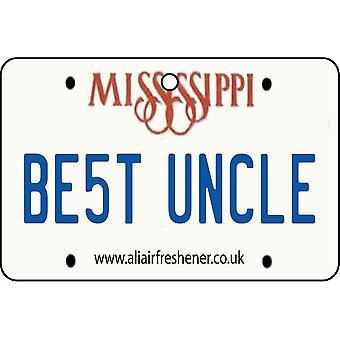 Mississippi - beste oom License Plate auto luchtverfrisser