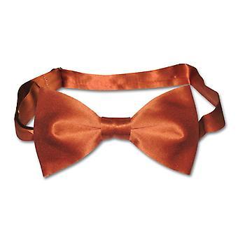 BIAGIO 100% SILK BOWTIE Solid Men's Bow Tie for Tux or Suit