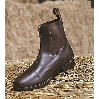 Mark Todd Adults Toddy Zip Jodhpur Boots