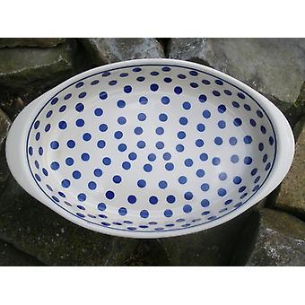 Plat allant au four, ovale, 28 x 19, 5 cm, tradition 24, BSN m-3710