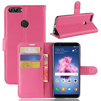 Pocket tegnebog premium Pink for Huawei nyde 7S / P smart beskyttelse ærme tilfælde dække pose nye