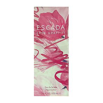 Escada Sexy Graffiti Eau De Toilette Spray 3.4Oz/100ml ORIGINAL FORMULA