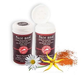 Hydrating face mask with red argiletz clay 40ml