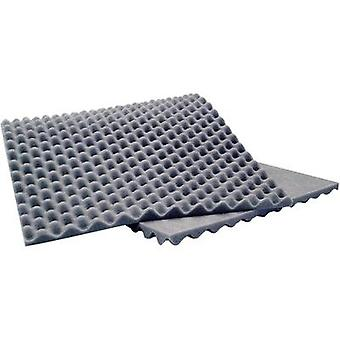 Sinuslive 10076 Acoustic foam (L x W x H) 900 x 400 x 20 mm