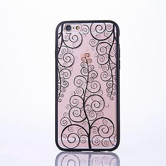 Handy Hülle Mandala für Samsung Galaxy J5 2016 Design Case Schutzhülle Motiv Blume Cover Tasche Bumper Schwarz