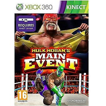 Hulk Hogans Main Event Kinect Xbox 360 Game