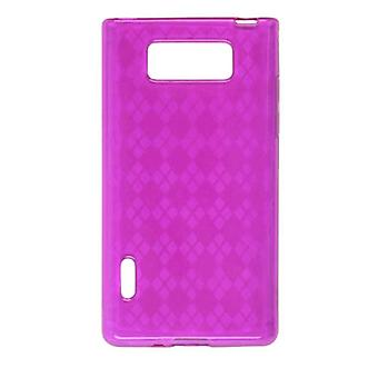 Ventev Dura-Gel Case for LG AS730 (Pink) - 572658
