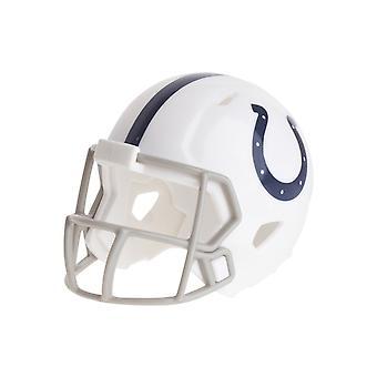 Cascos de fútbol bolsillo Riddell speed - potros de Indianapolis de la NFL