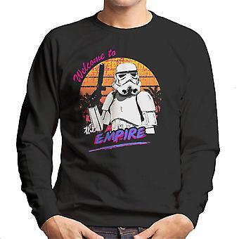 Oprindelige Stormtrooper Retro 80 'er velkommen til rige mænds Sweatshirt