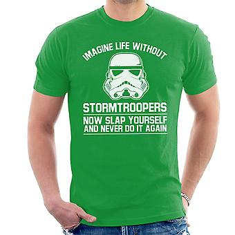 Original Stormtrooper Imagine Life Without Men's T-Shirt