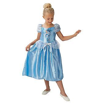 Rubiner Saga Cinderella kostym maskeraddräkt