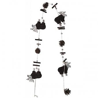Tobs Reindeer Vertical Garland Home Decoration