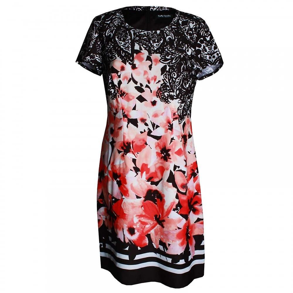 Betty Barclay Damen florale Kurzarm A Linie Kleid
