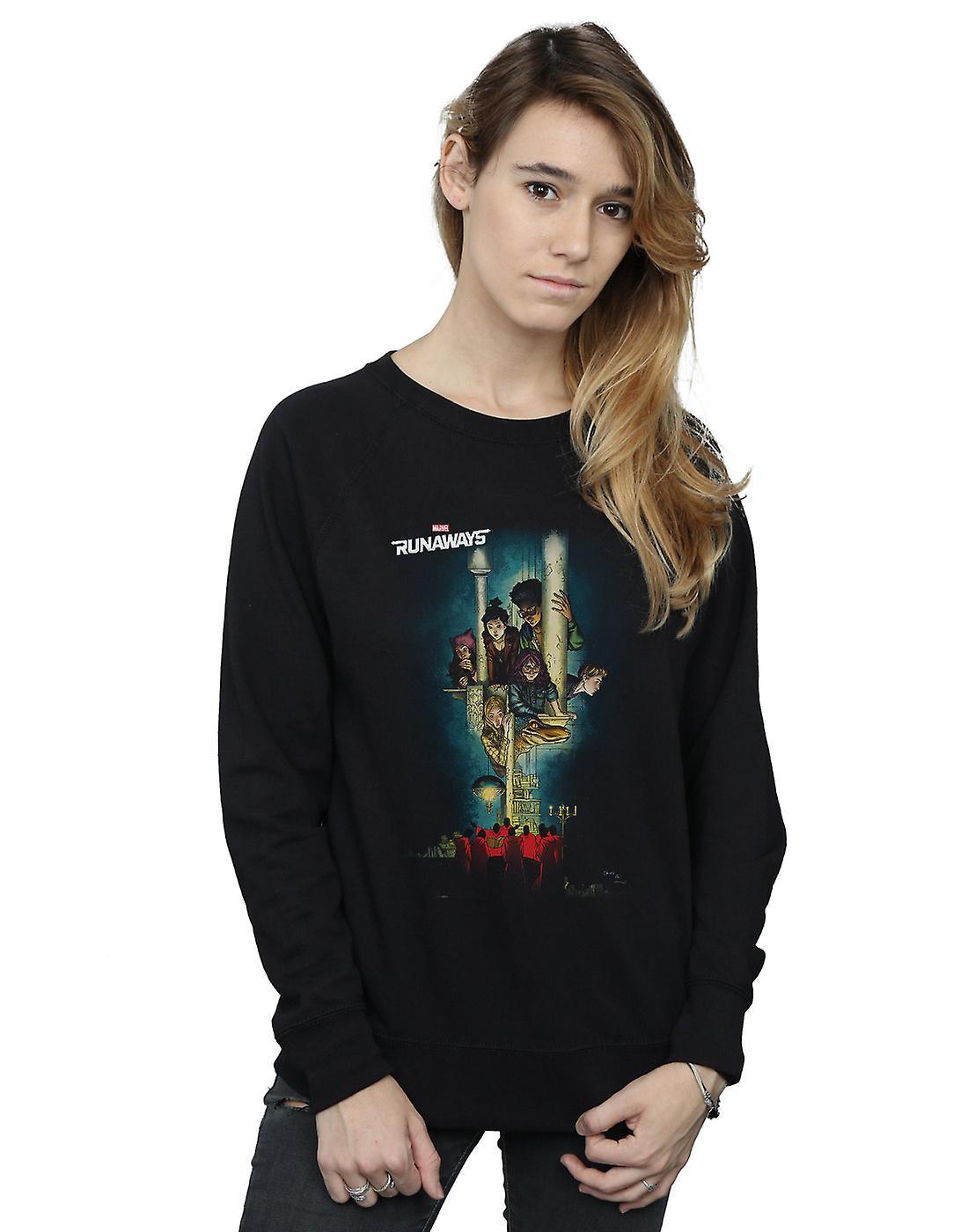Marvel Women's Runaways Poster Sweatshirt