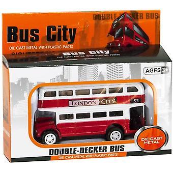 Διπλό όχημα με λεωφορείο, το οποίο πεθαίνει 8 εκατοστά με το κόκκινο