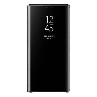 Samsung Galaxy Note 9 Clear View Standing Cover - Svart