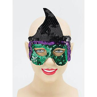 Witch Sequin Eye Mask.